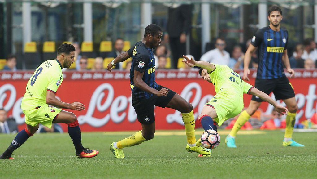 De Boer Kritik Kondogbia Usai Inter Diimbangi Bologna