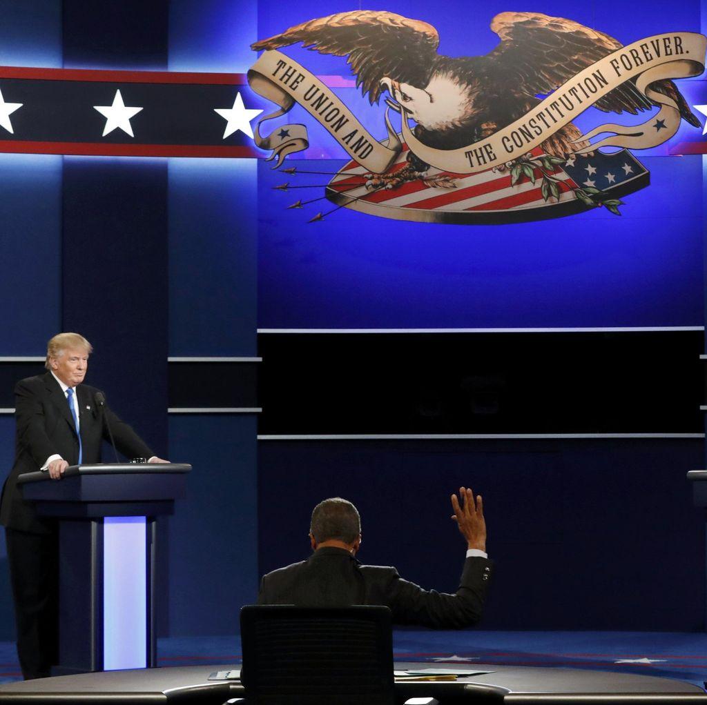 Debat Capres AS, Trump Sebut Hillary Tak Punya Stamina Menjadi Presiden