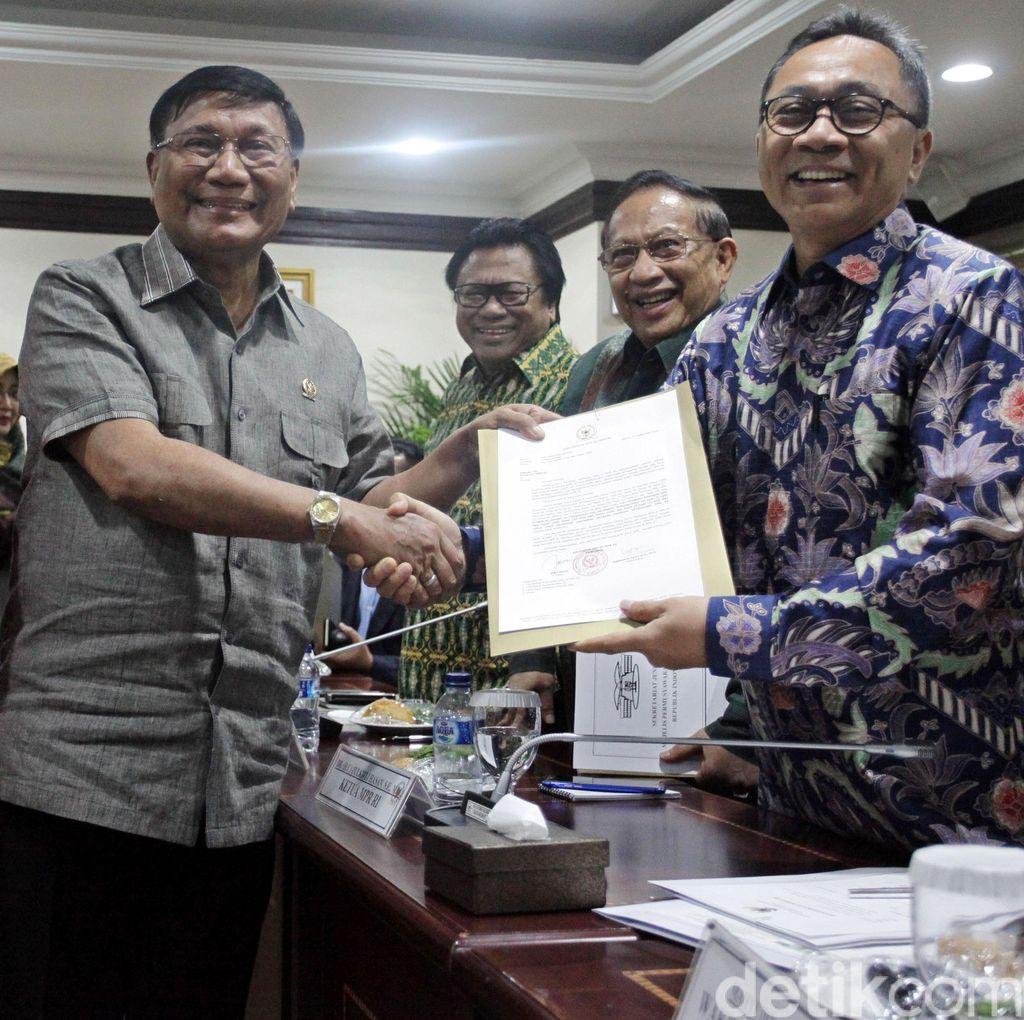 Pimpinan MPR dan DPD Rapat Konsultasi