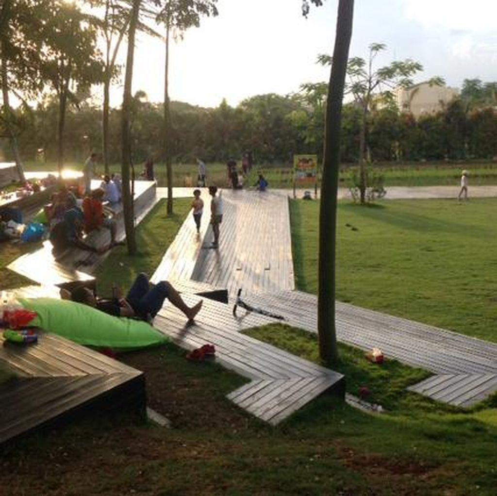 Aneka Foto Taman Paling Instagrammable di Tangerang
