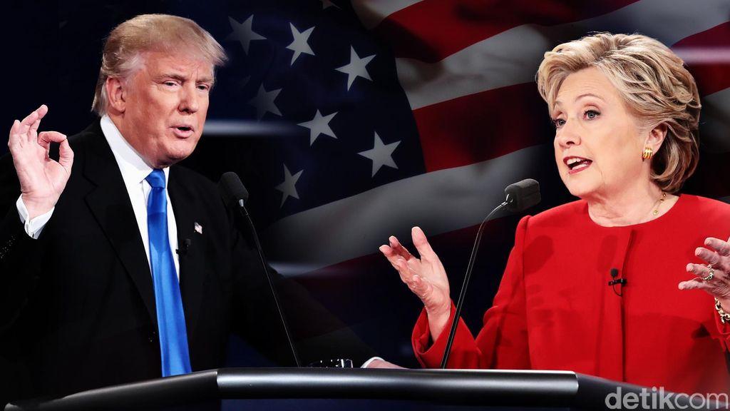 Debat Capres AS, Trump Ejek Hillary Soal Rencana Perangi ISIS