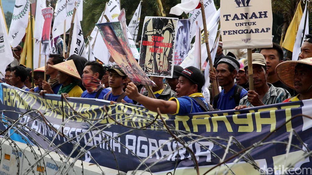 Demonstrasi Hari Tani Nasional