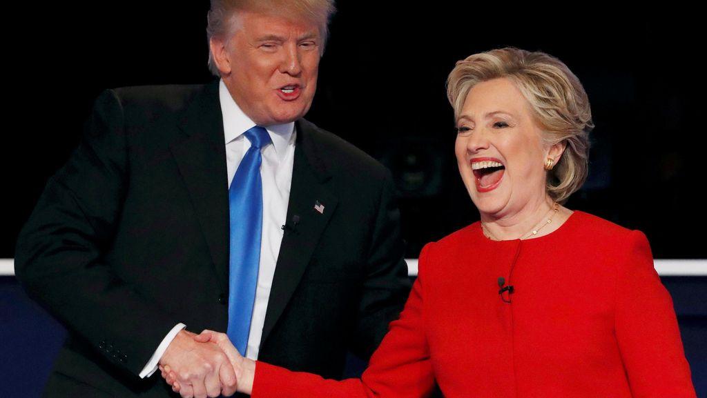 Meski Berdebat Sengit, Jika Hillary Menang Trump Janji Akan Mendukung