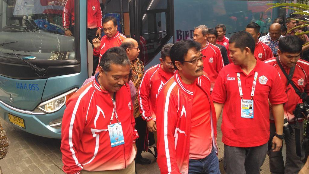 Wagub Djarot Tiba di Bandung, akan Saksikan 3 Cabang Olahraga Kontingen DKI