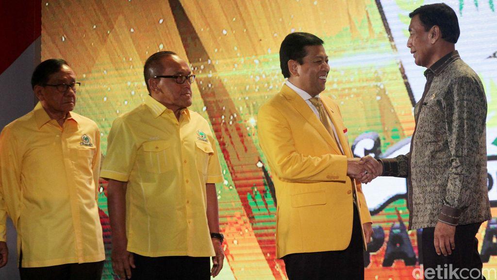 Golkar Kumpulkan Seluruh Kader di Pemerintahan dan Parlemen
