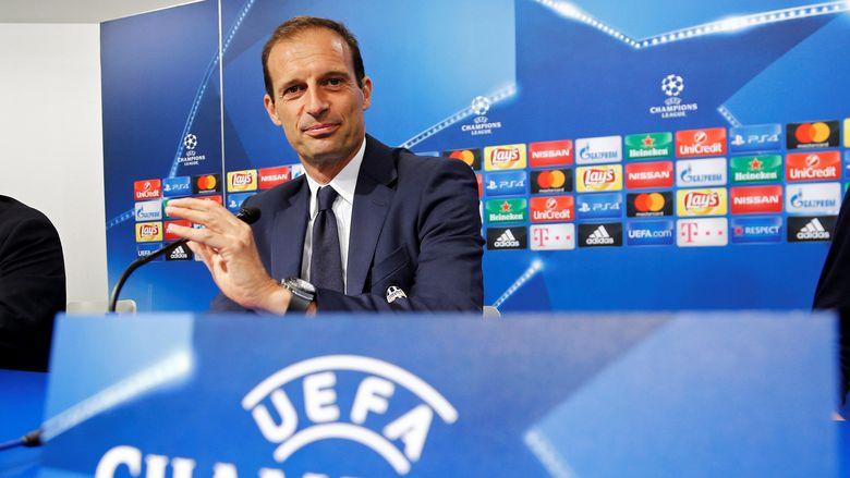 """""""Bandar Bola - Allegri Belum Pikirkan Juventus Lolos Fase Frup"""""""