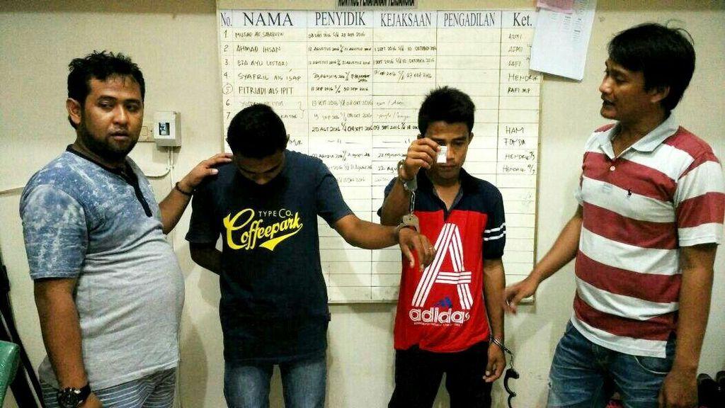 2 Pengedar Sabu di Pelosok Desa Riau Dibekuk, 1 di Antaranya Mahasiswa
