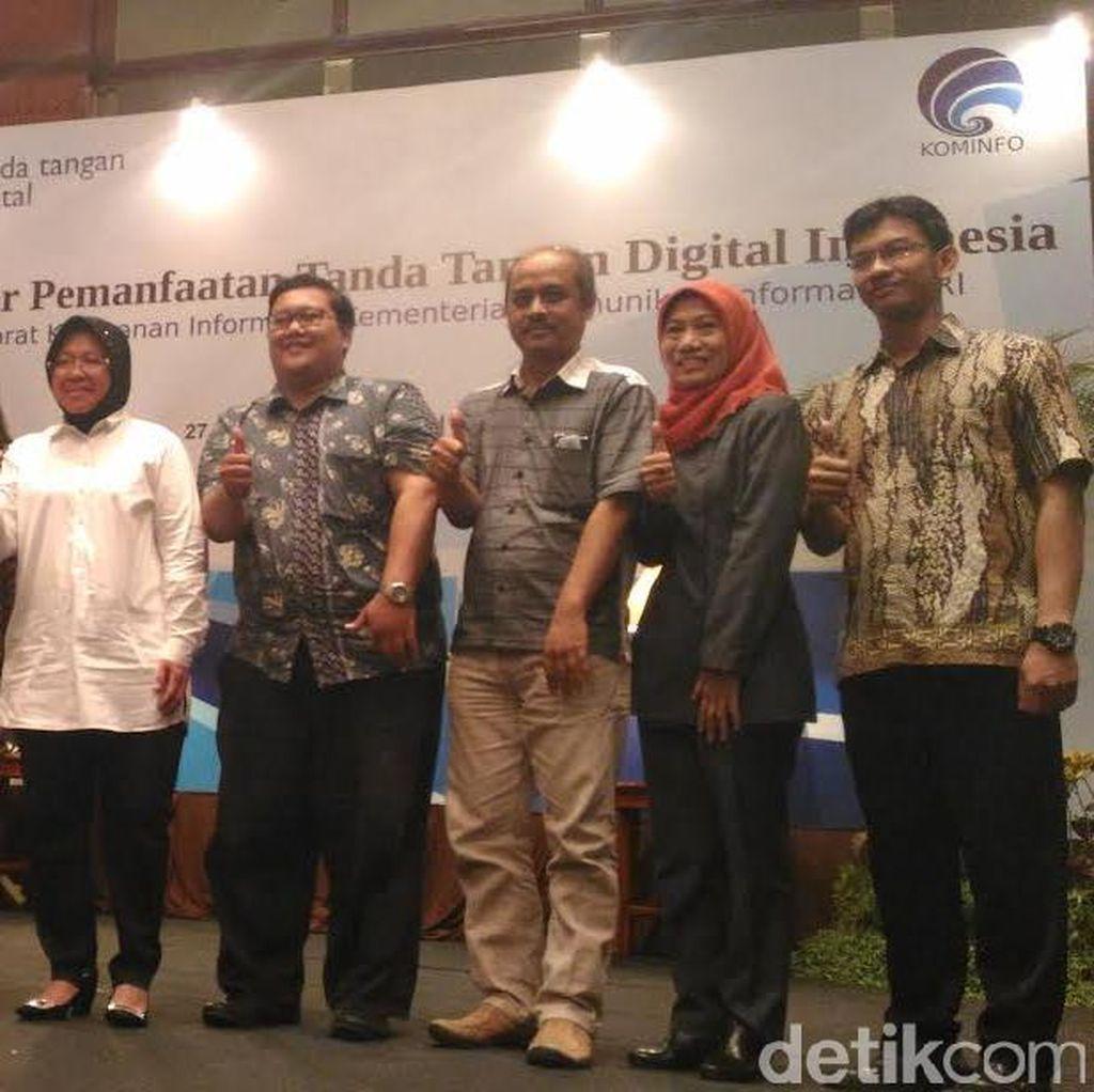 Kemenkominfo Dorong Tanda Tangan Digital Tiap Urusan Administrasi