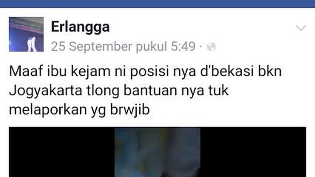 Polres Bekasi Telusuri Video Perempuan Injak Balita yang Viral di Media Sosial