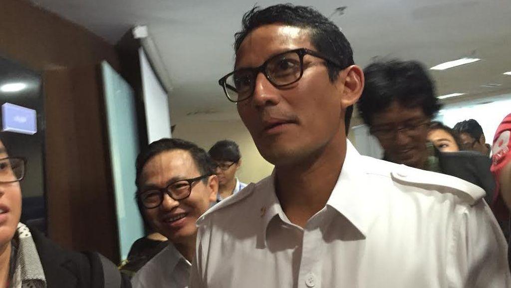 Bantah Ahok, Sandiaga: 97 Persen Harta Saya di Indonesia