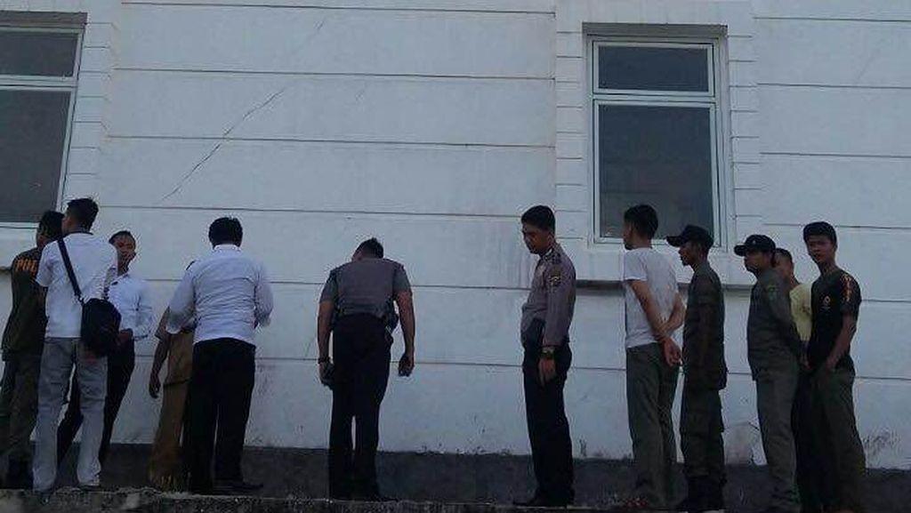 PNS Tewas Terjatuh dari Lantai 3 Kantor Bupati Rohil Riau