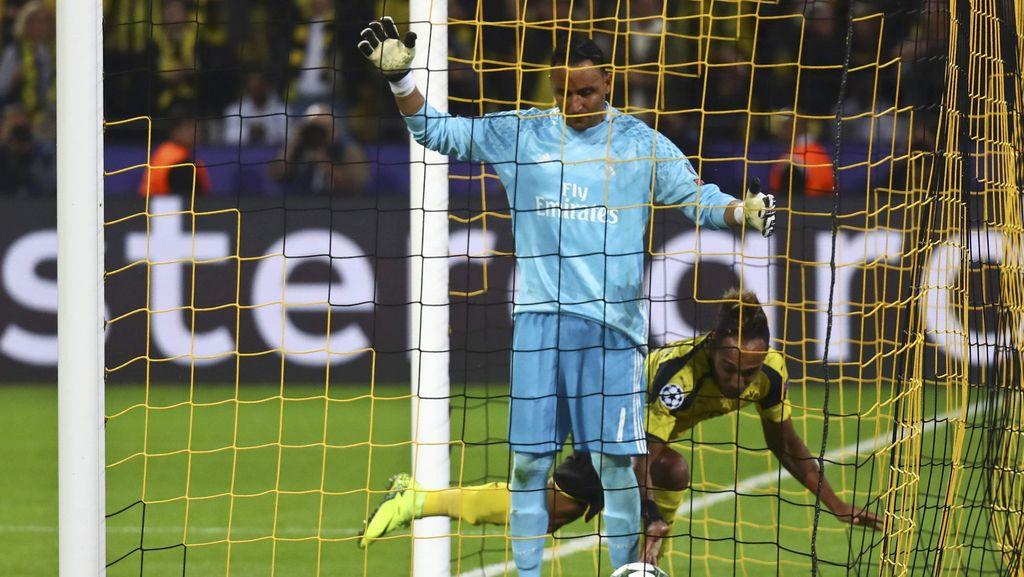 Akui Bikin Kesalahan, Keylor Navas Tetap Dipuji Zidane