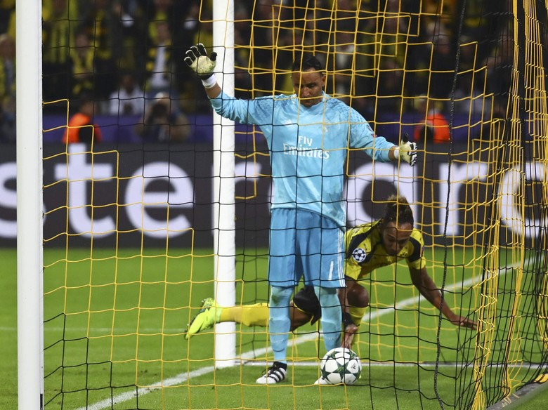"""""""Bandar Bola - Meskipun Blunder Navas Tetap Dipuji Oleh Zidane"""""""