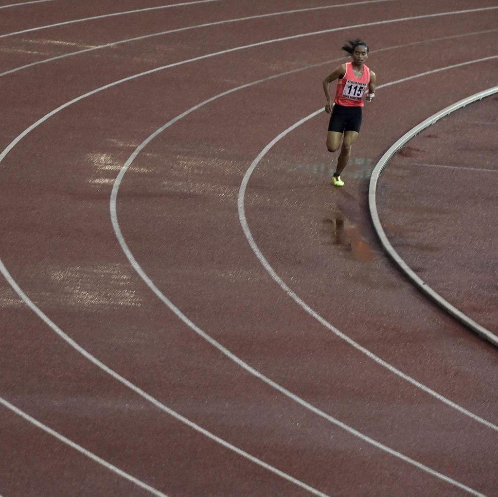 Emas Maraton Milik Agus Prayogo dan Triyaningsih