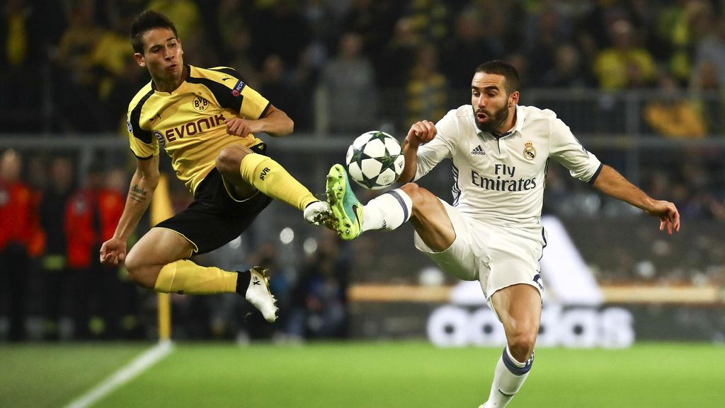 Dortmund vs Madrid Berakhir Imbang