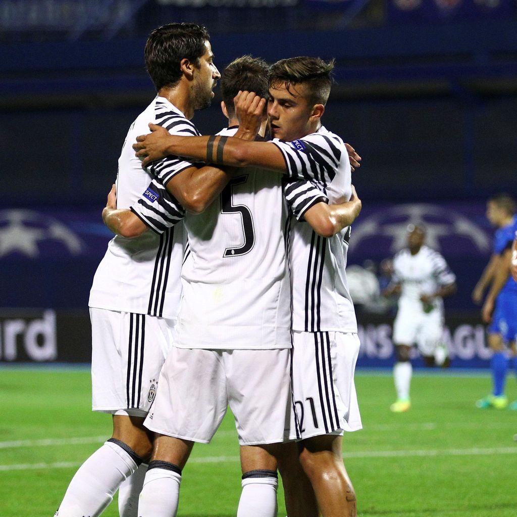 Juventus Libas Dinamo Zagreb 4-0