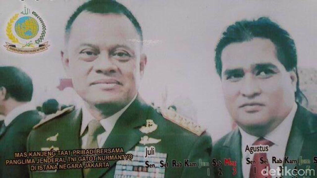 Ini Penjelasan Panglima TNI Soal Fotonya Bersama Dimas Kanjeng