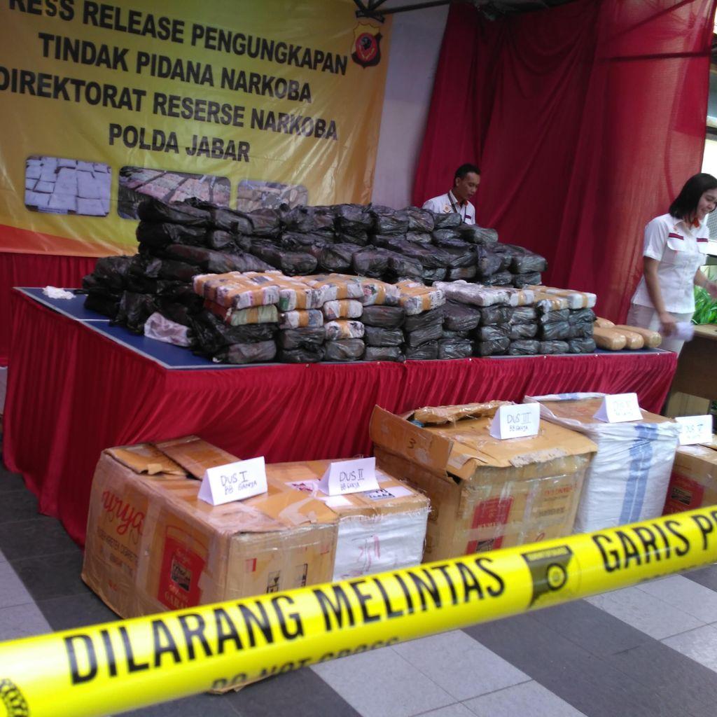 Ganja 201 Kilogram Dikendalikan dari Dalam Lapas di Bogor