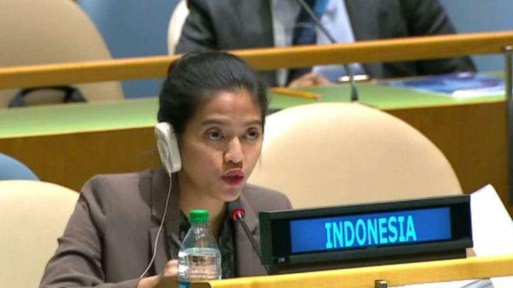 Menlu: Nara Rakhmatia Bicara Atas Nama Indonesia