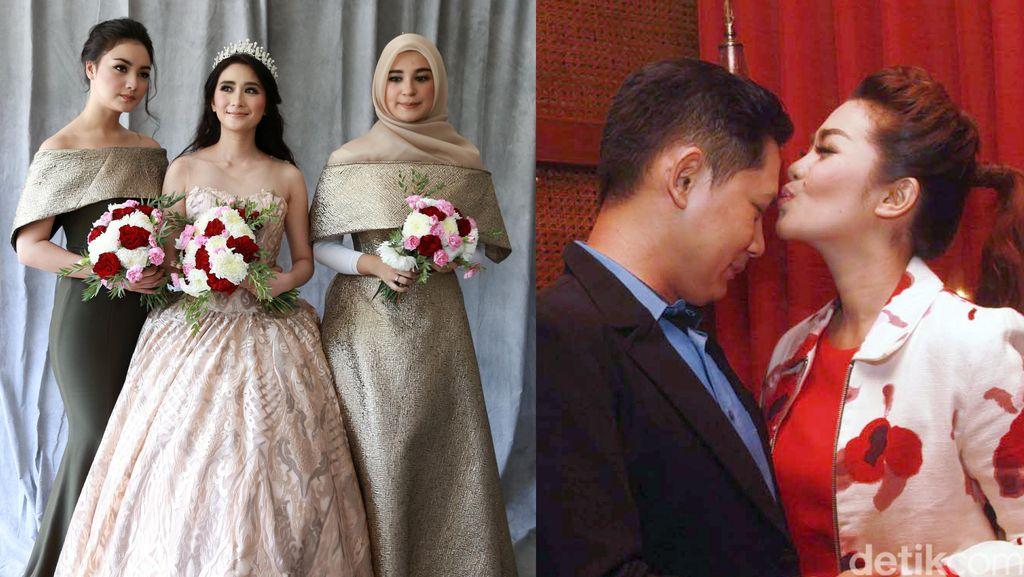 Cantiknya Citra Kirana, Shireen Sungkar dan Ryana Dea, Fitri Carlina Cium Suami
