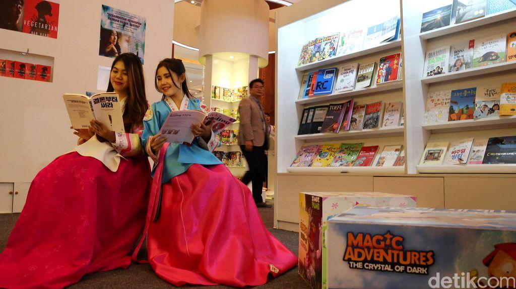 Intip Keseruan Pameran Buku Internasional di JCC