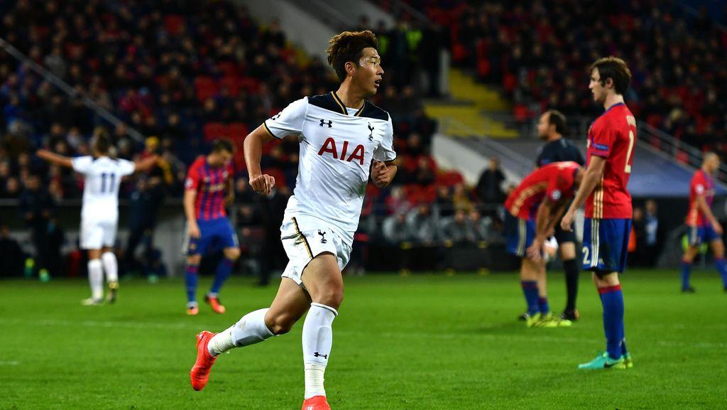 Spurs Tundukkan CSKA 1-0 Lewat Gol Son