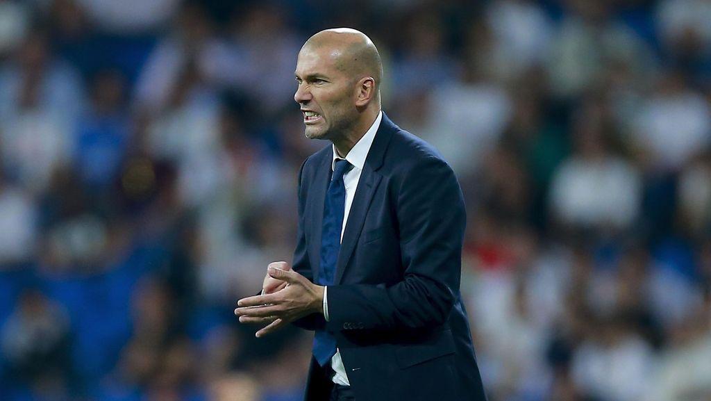 Zidane Optimistis Madrid Segera Kembali ke Jalur Kemenangan