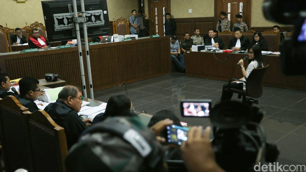 Jessica Tak Kuasa Menahan Tangis Saat Cerita Soal Kondisi di Sel