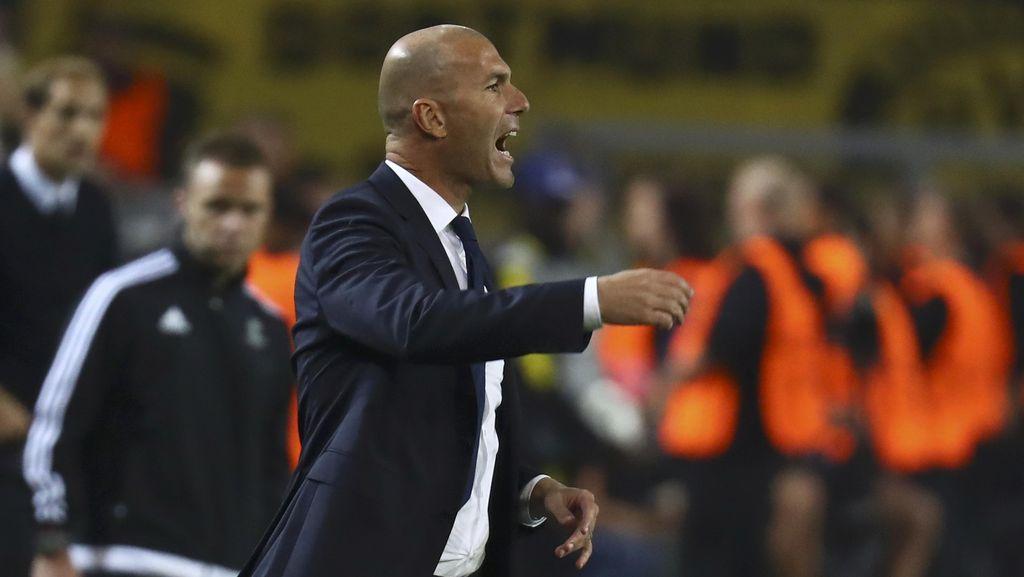 Zidane: Rasanya Menyakitkan Kebobolan di Tiga Menit Terakhir