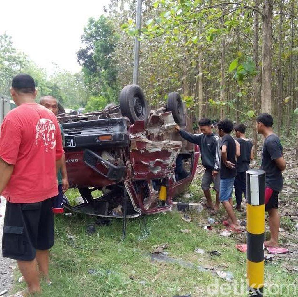 Tiga Korban Tewas Kecelakaan di Ngawi Salah Satunya Danramil