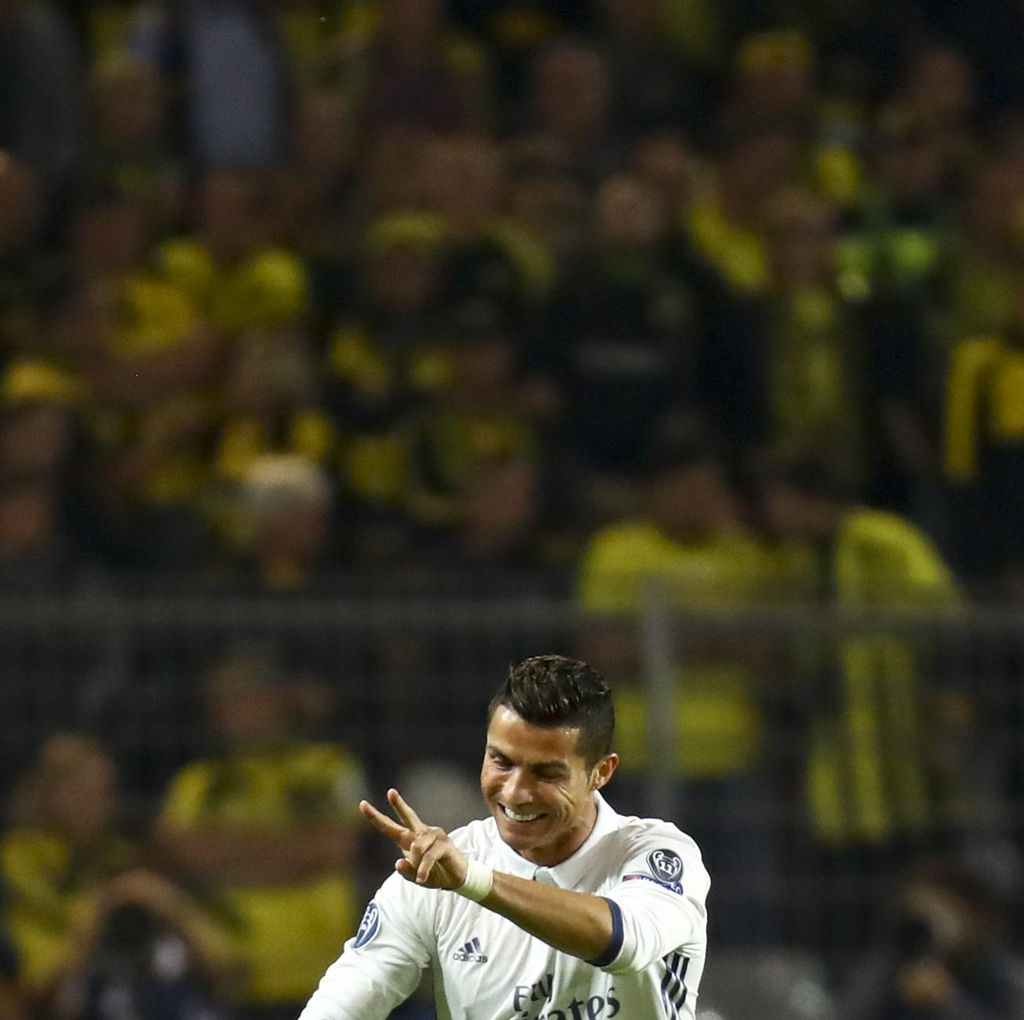Kisah Ronaldo yang Sudah Bikin Gembira Putra Aubameyang