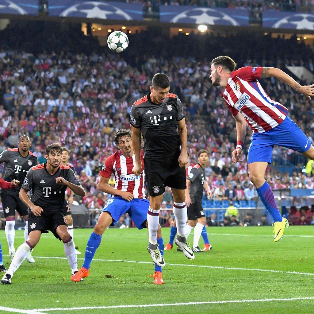 Gol Carrasco Bawa Atletico Ungguli Bayern