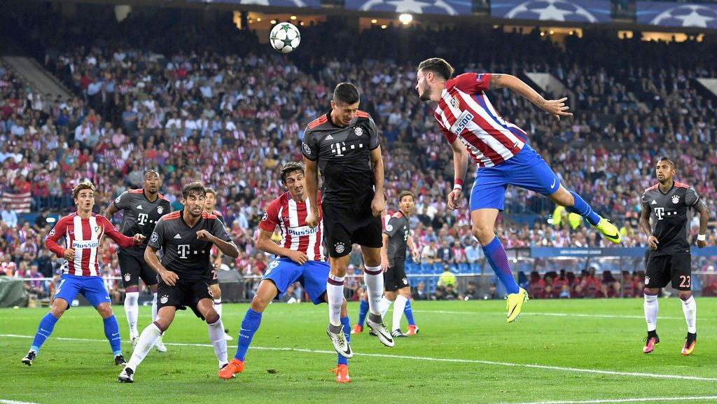 Atletico Kalahkan Bayern
