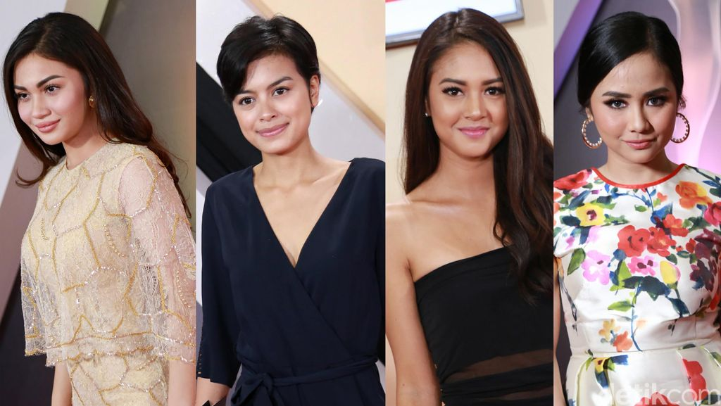 Para Selebriti di AMI Awards 2016, Aksi Panggung Ayu Ting Ting dan Zaskia Gotik