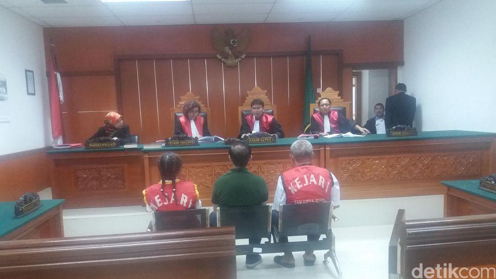 Pasutri Bandar Sabu Asal Malaysia Divonis Mati di PN Jakbar
