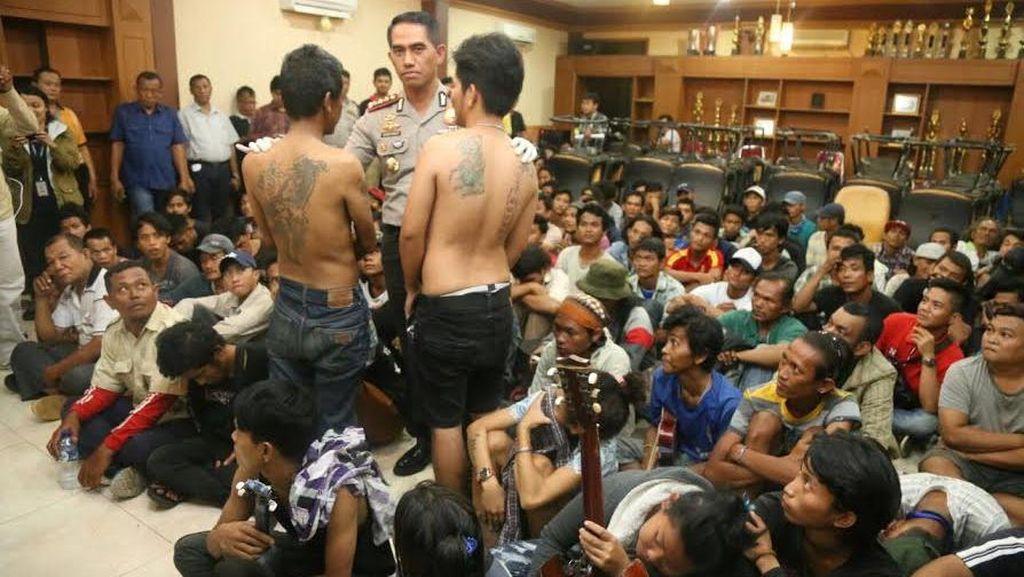 Jelang Pilgub DKI, Polres Jakpus Amankan 145 Preman
