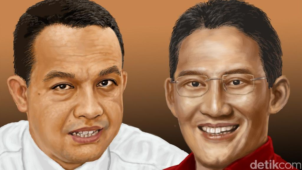 PKS: Anies-Sandi Head to Head Lawan Ahok di Putaran Dua
