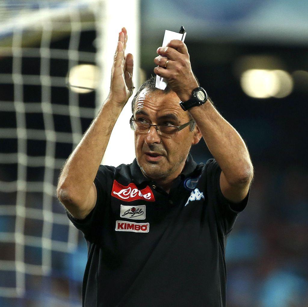 Sarri Kesal Napoli Kebobolan Dua Gol