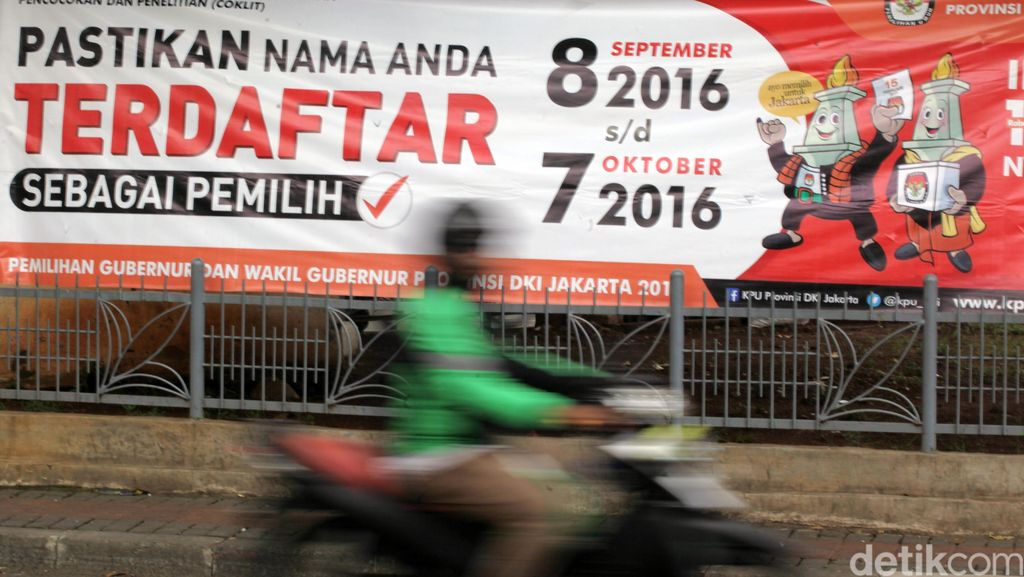 Begini Penampakan Spanduk Pilkada DKI Jakarta