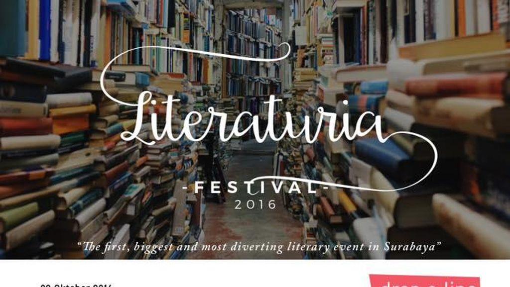 Liberaturia, Festival Literasi Pertama di Surabaya Digelar Akhir Pekan Ini