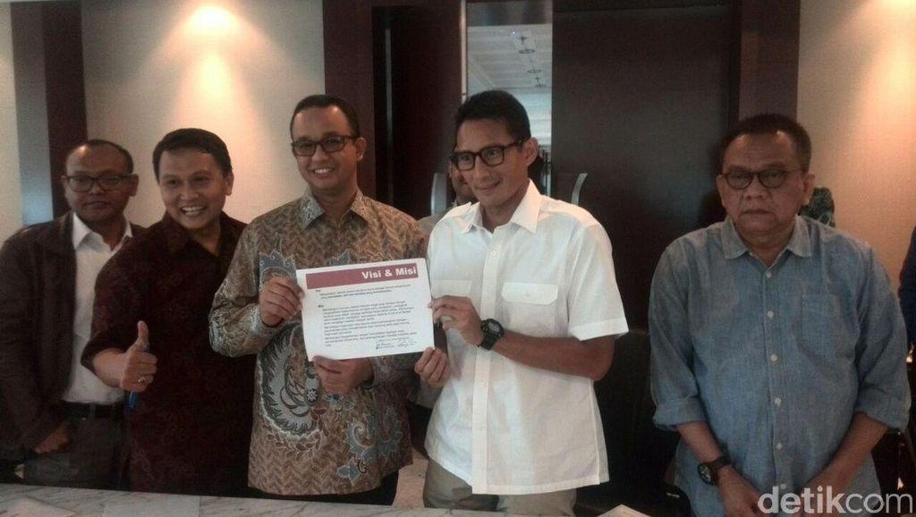 Ini Susunan Tim Pemenangan Anies Baswedan-Sandiaga Uno