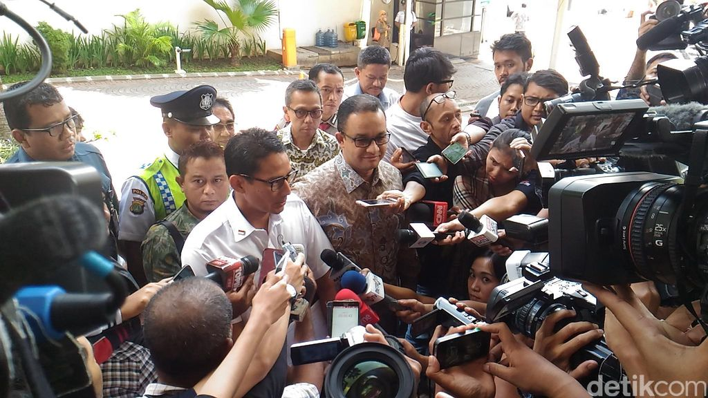 Usai Setor LHKPN, Sandiaga: Sayang Sekali Laporan Keuangan DKI Belum WTP