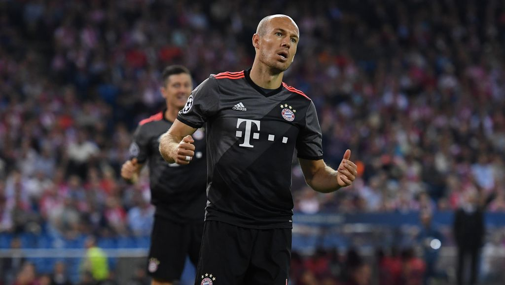 Robben Sesalkan Kegagalan Bayern Memanfaatkan Peluang