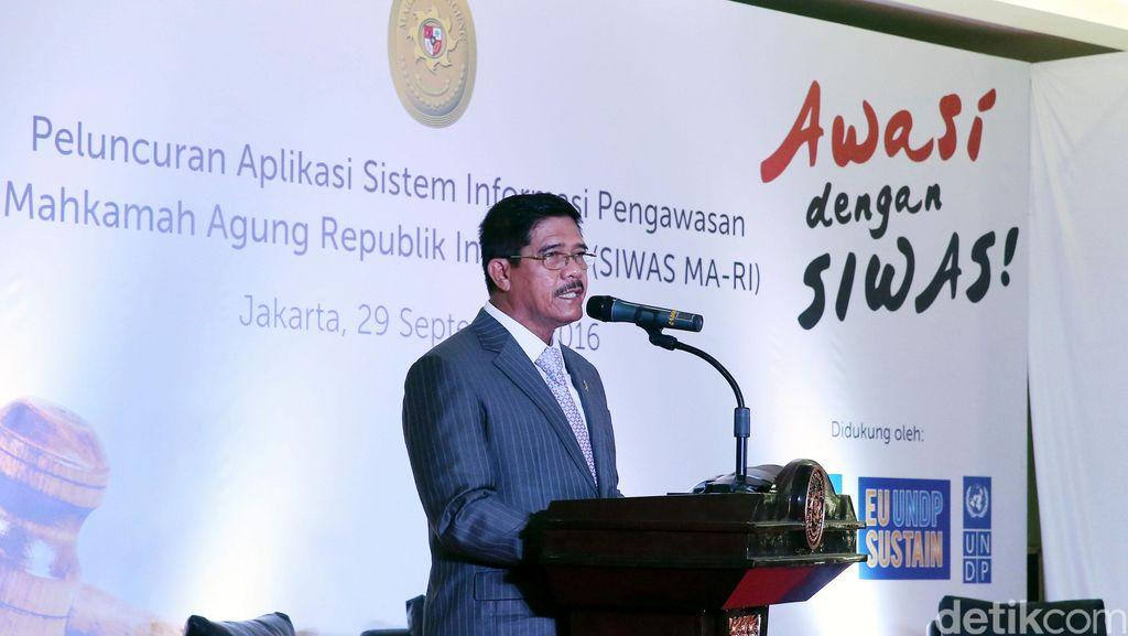 Ketua MA Nilai Sanksi Sosial Nyapu Jalan untuk Koruptor Belum Diperlukan