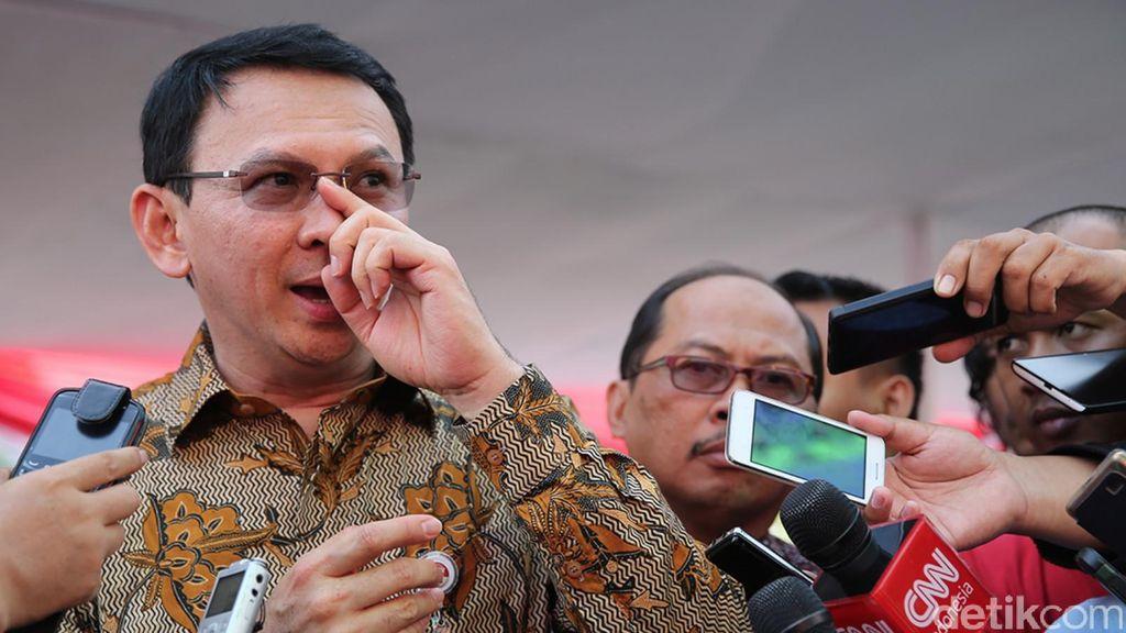 Soal Novanto, Ahok: Kalau Teman Jadi Ketua DPR Bagus Dong