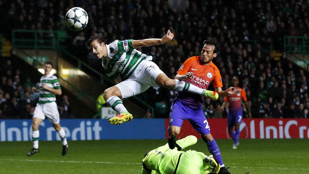 Celtic vs City Berakhir Tanpa Pemenang