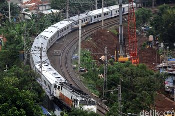 Pembanguanan Double Track Manggarai-Cikarang