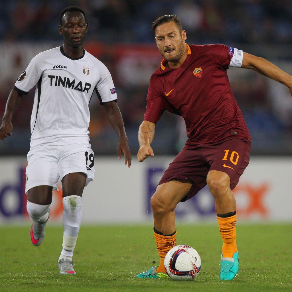 Roma Gasak Astra 4-0