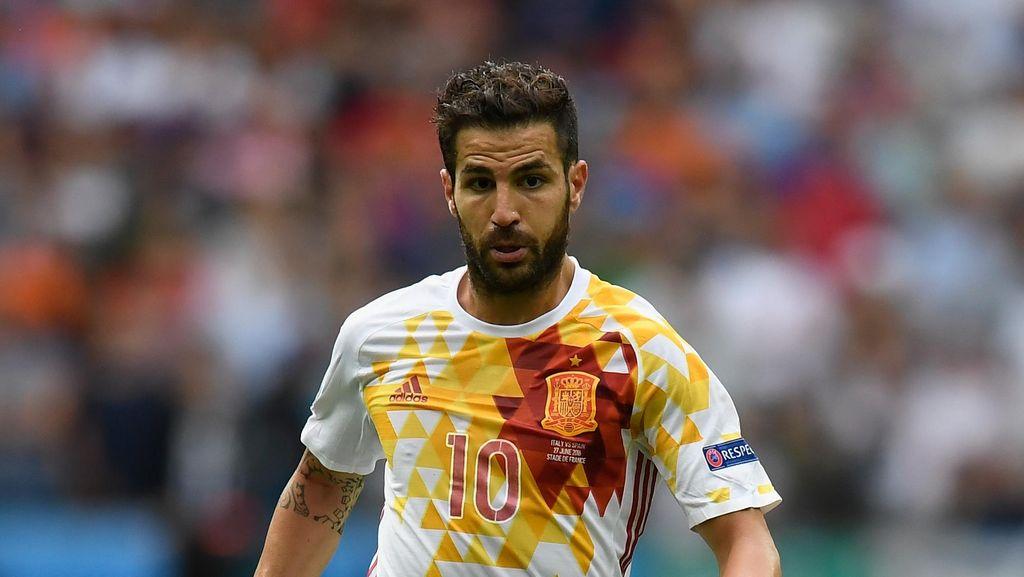 Belum Ada Tempat untuk Mata dan Fabregas di Skuat Spanyol