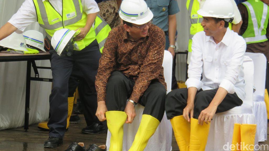 Tinjau MRT, Ahok: Jokowi Tak Suka Banyak Teori Maunya Foto Kemajuan